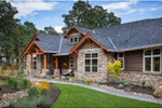 Rustic Home Plan Front Photo 02 - Leigh Lane Country Ranch Home 011D-0347 | House Plans and More