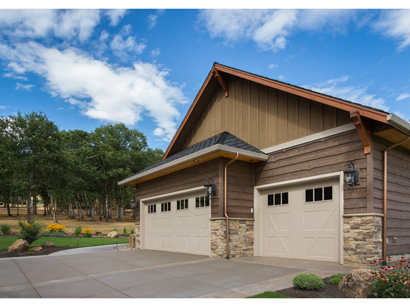 Rustic Home Plan Garage Photo - Leigh Lane Country Ranch Home 011D-0347 | House Plans and More