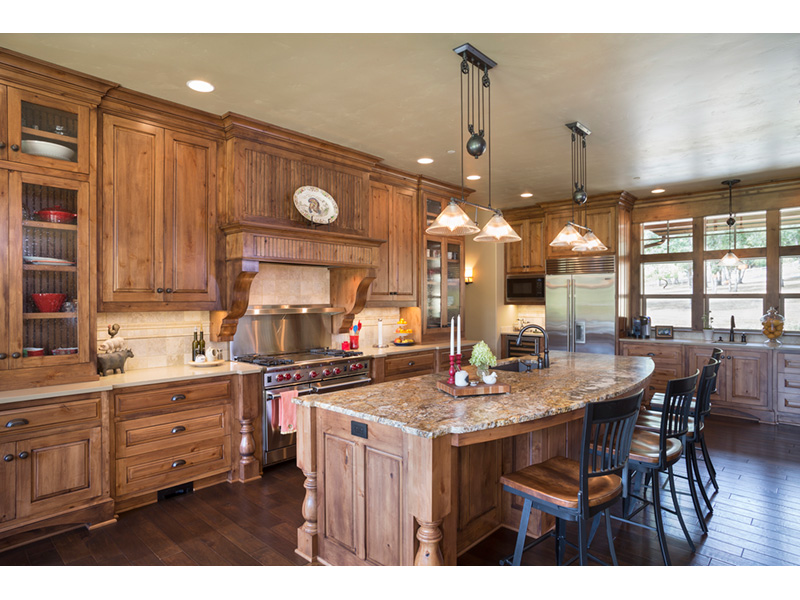 Rustic Home Plan Kitchen Photo 01 - Leigh Lane Country Ranch Home 011D-0347 | House Plans and More