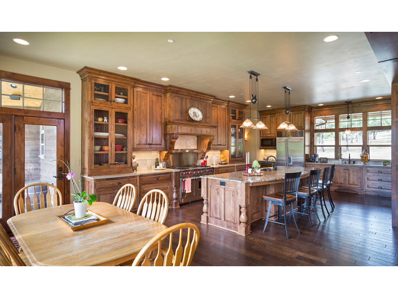 Rustic Home Plan Kitchen Photo 02 - Leigh Lane Country Ranch Home 011D-0347 | House Plans and More