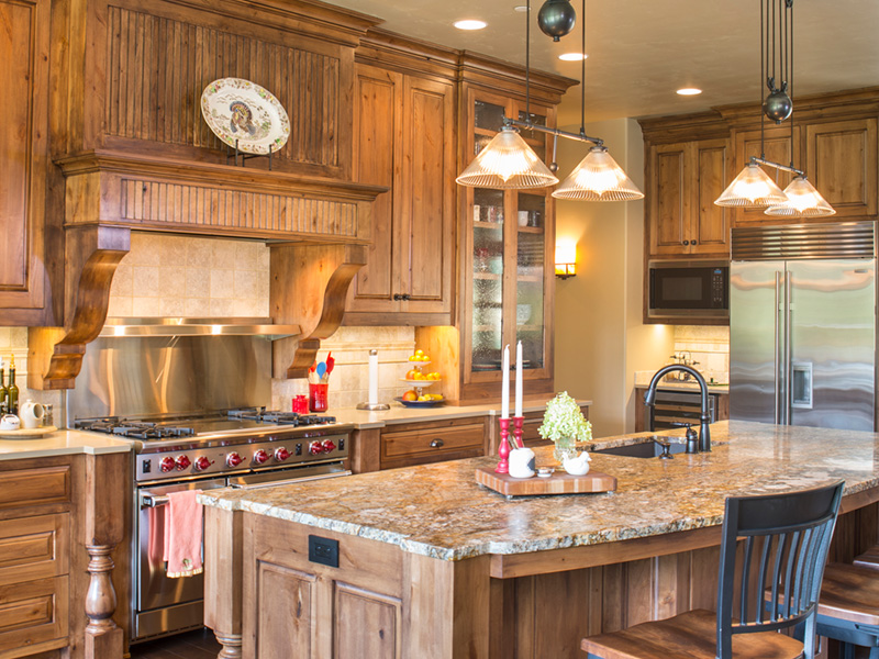 Rustic Home Plan Kitchen Photo 03 - Leigh Lane Country Ranch Home 011D-0347 | House Plans and More