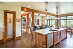 Rustic Home Plan Kitchen Photo 04 - Leigh Lane Country Ranch Home 011D-0347 | House Plans and More
