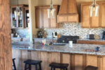Rustic Home Plan Kitchen Photo 06 - Leigh Lane Country Ranch Home 011D-0347 | House Plans and More