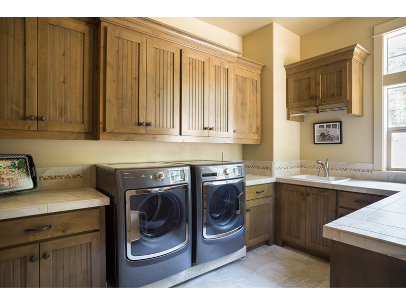 Rustic Home Plan Laundry Room Photo 01 - Leigh Lane Country Ranch Home 011D-0347 | House Plans and More