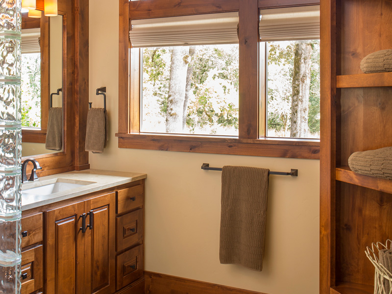 Rustic Home Plan Master Bathroom Photo 01 - Leigh Lane Country Ranch Home 011D-0347 | House Plans and More