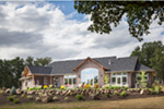 Rustic Home Plan Rear Photo 02 - Leigh Lane Country Ranch Home 011D-0347 | House Plans and More