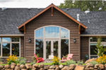 Rustic Home Plan Rear Photo 03 - Leigh Lane Country Ranch Home 011D-0347 | House Plans and More