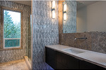 Shingle House Plan Bathroom Photo 01 - 011D-0351 | House Plans and More