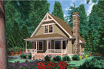 Lake House Plan Front Photo 01 - 011D-0359 | House Plans and More