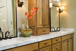 Mountain Home Plan Bathroom Photo 01 - Verbena Craftsman Home : Contemporary Craftsman-Style Home Plans
