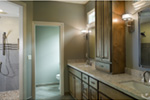 Mountain Home Plan Bathroom Photo 02 - Verbena Craftsman Home : Contemporary Craftsman-Style Home Plans