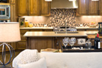 Mountain Home Plan Kitchen Photo 02 - Verbena Craftsman Home : Contemporary Craftsman-Style Home Plans