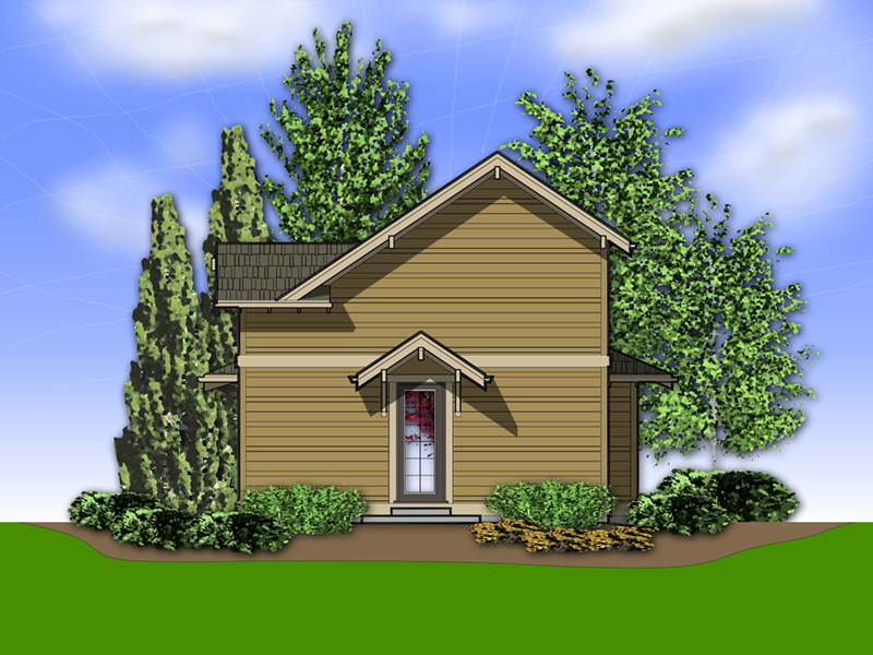 Lake House Plan Rear Photo 01 - 011D-0430 | House Plans and More