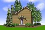 Waterfront House Plan Rear Photo 01 - 011D-0430 | House Plans and More
