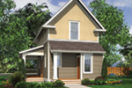 Cabin & Cottage House Plan Rear Photo 01 - 011D-0446 | House Plans and More