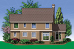 Traditional House Plan Rear Photo 01 - 011D-0519 | House Plans and More