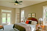 Rustic Home Plan Bedroom Photo 02 - 011D-0526 | House Plans and More