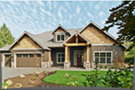 Rustic Home Plan Front Photo 06 - 011D-0526 | House Plans and More