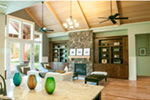 Rustic Home Plan Living Room Photo 03 - 011D-0526 | House Plans and More