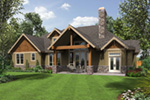 Rustic Home Plan Rear Photo 01 - 011D-0526 | House Plans and More
