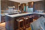 Contemporary House Plan Kitchen Photo 02 - Kamari Modern Home 011D-0588 | House Plans and More