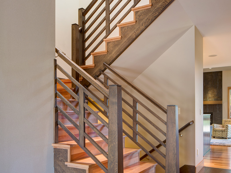 Beach & Coastal House Plan Stairs Photo 01 - 011D-0588 | House Plans and More