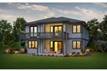 Rear Photo 01 -  011D-0642 | House Plans and More