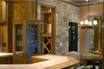 Craftsman House Plan Bar Photo 01 - Cliffwood Trail Lodge Home 011S-0001 | House Plans and More