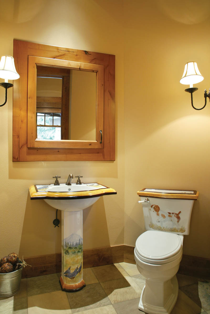 Ranch House Plan Bathroom Photo 03 011S-0001