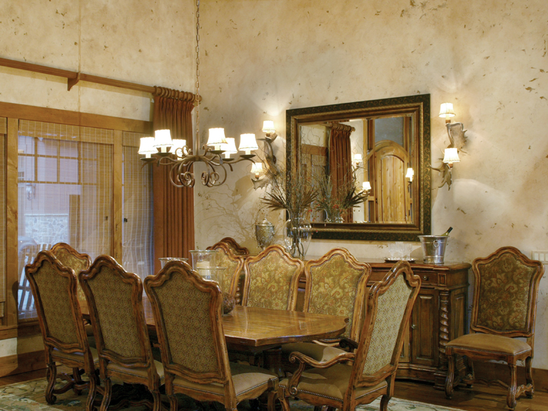 Luxury House Plan Dining Room Photo 01 011S-0001