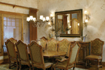 Luxury House Plan Dining Room Photo 01 - 011S-0001 | House Plans and More