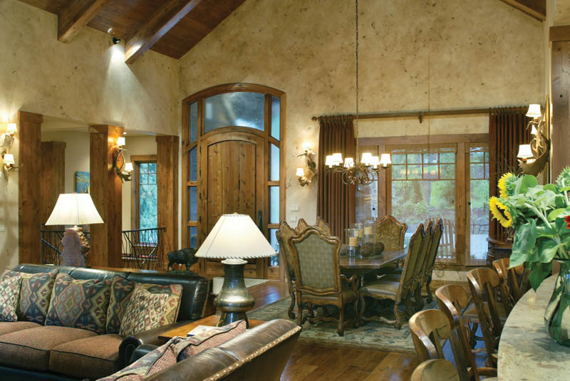 Ranch House Plan Dining Room Photo 02 011S-0001
