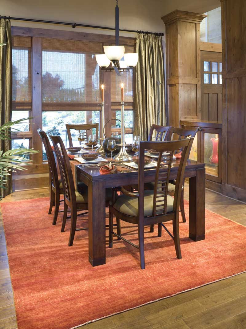 Craftsman House Plan Dining Room Photo 03 - 011S-0001 | House Plans and More