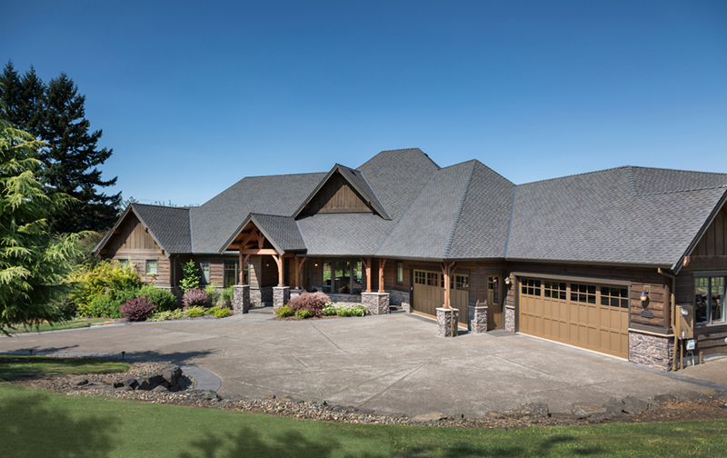 Ranch House Plan Front of Home 011S-0001