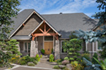 Craftsman House Plan Front Photo 10 - Cliffwood Trail Lodge Home 011S-0001 | House Plans and More