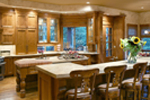 Craftsman House Plan Kitchen Photo 02 - 011S-0001 | House Plans and More