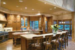 Ranch House Plan Kitchen Photo 04 - 011S-0001 | House Plans and More