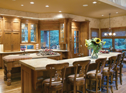 Lovely and efficient country kitchen