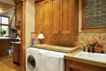 Luxury House Plan Laundry Room Photo - 011S-0001 | House Plans and More
