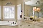 European House Plan Bathroom Photo 01 - 011S-0002 | House Plans and More