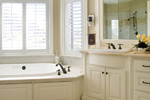 European House Plan Bathroom Photo 03 - 011S-0002 | House Plans and More