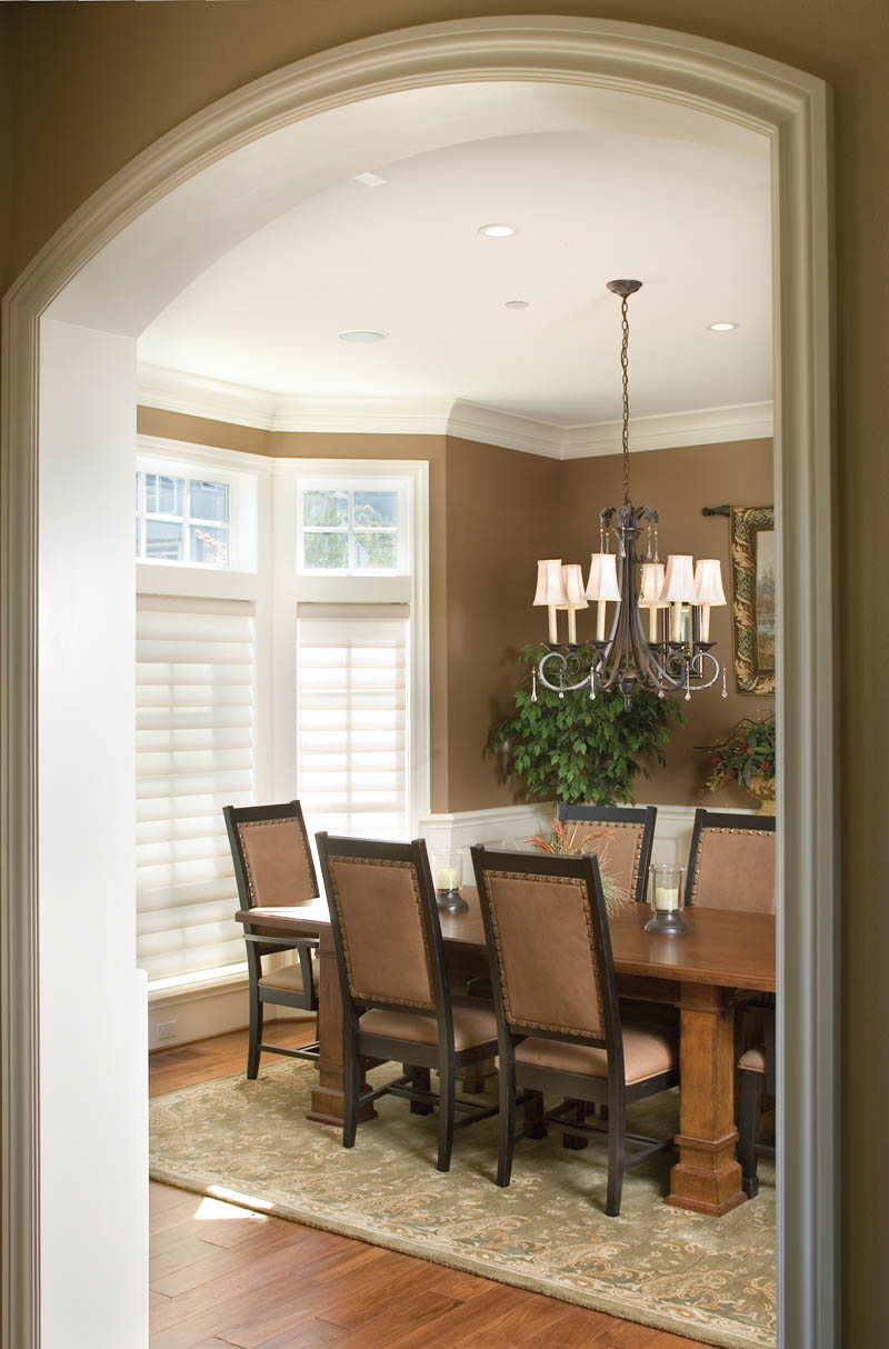 European House Plan Dining Room Photo 01 011S-0002