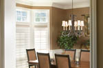 European House Plan Dining Room Photo 01 - 011S-0002 | House Plans and More