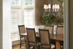 European House Plan Dining Room Photo 04 - 011S-0002 | House Plans and More