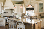 European House Plan Kitchen Photo 01 - 011S-0002 | House Plans and More