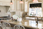 European House Plan Kitchen Photo 04 - 011S-0002 | House Plans and More