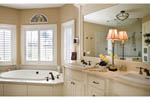 European House Plan Master Bathroom Photo 01 - 011S-0002 | House Plans and More