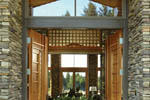 Ranch House Plan Atrium Photo - 011S-0003 | House Plans and More