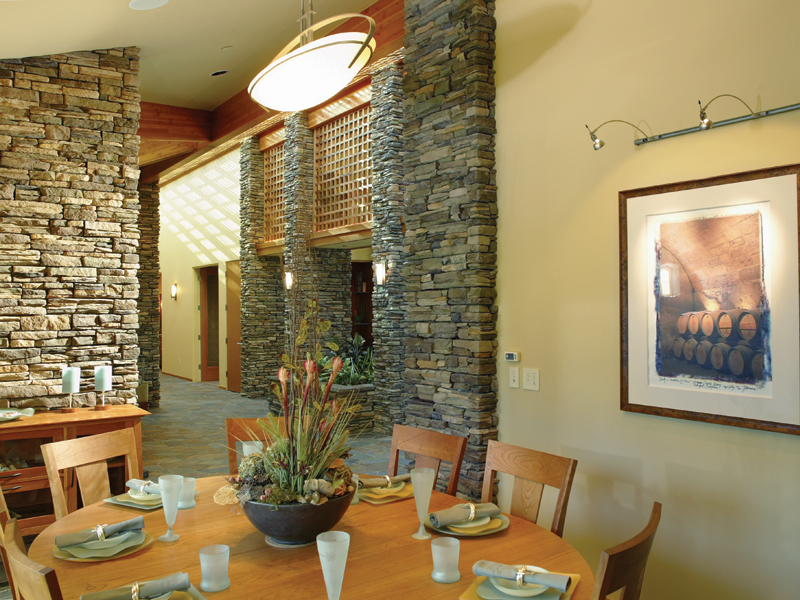Ranch House Plan Dining Room Photo 02 011S-0003