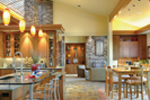 Ranch House Plan Kitchen Photo 02 - 011S-0003 | House Plans and More